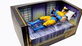 X-Men The Animated Series Wolverine Action Figure Comes With Morph Head