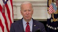 Biden urges Senate to pass universal background checks for gun purchases