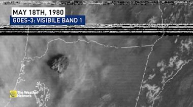 40 years ago: See the original satellite imagery of the Mount St. Helens eruption