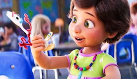 Toy Story 4 (2019) - Bonnie Makes Forky - Forky Is Born Scene HD Movie Clip