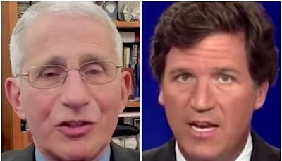 Dr. Fauci Answers Tucker Carlson's Lame Vaccine Question And It's The Shot We've Waited For
