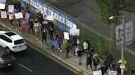 Some parents protest California's student vaccine mandate