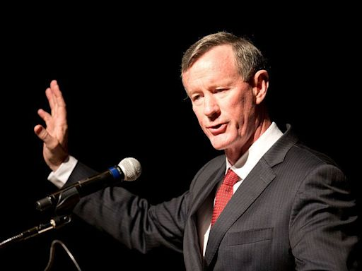 Retired Navy SEAL William McRaven says bin Laden conspiracy theory Trump boosted is as 'crazy' as denying the moon landing