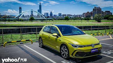2021 Volkswagen Golf 280 eTSI R-Line都會試駕!國民掀背再出科技新招!