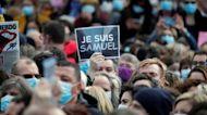 France rallies in support of slain teacher