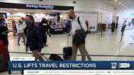 U.S. lifts travel restrictions on UK, European Union