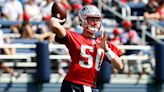 Patriots quarterback battle: Mac Jones must 'decisively prove' progress made