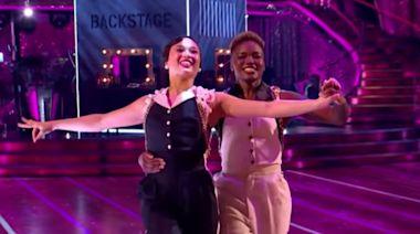 Strictly Come Dancing: Nicola Adams and Katya Jones make history with 'glorious' first same-sex dance