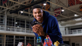 Nike and NBA Star Giannis Antetokounmpo Debut Uno-Inspired Shoes for the Card Game's 50th Anniversary