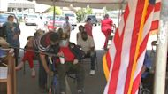 Vietnam Veterans receive long overdue honor thanking them for their service