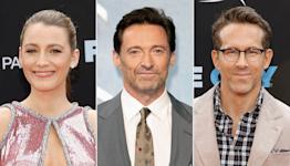 Hugh Jackman Jokingly Tells Blake Lively She's 'a Saint for Marrying That Man' Ryan Reynolds
