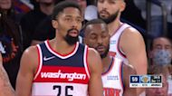 Kemba Walker with an and one vs the Washington Wizards
