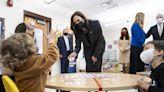 Vice President Kamala Harris touts child care, COVID-19 vaccines during N.J. trip