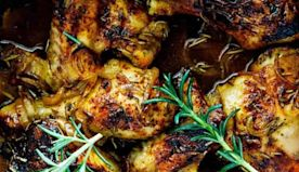 This Southern Baked Chicken Recipe Is Sticky, Sweet Comfort