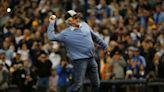 'Major League' stars Charlie Sheen, Bob Uecker reunite for California Strong event