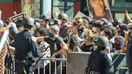 Pro-Trump Demonstrators Attacked by Counterprotesters in San Francisco
