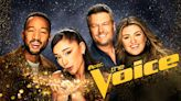 """Ariana Grande promised to have a baby for a contestant on """"The Voice"""" last night"""