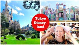 JAPAN VLOGS - Our First Time at Tokyo Disneyland!! Lunch at Queen of Hearts Banquet Hall