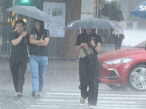 快訊/午後對流旺盛!6縣市大雨特報 嘉義台南恐冒大雷雨