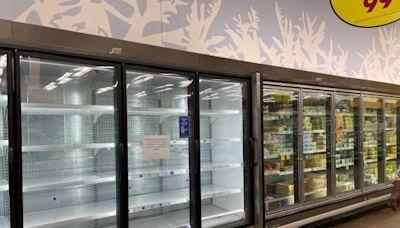 英國超市奇招掩飾貨物短缺 顧客哭笑不得(圖) - 雪帆 - 社区新闻
