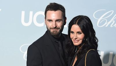 Courtney Cox says she hasn't seen her fiancé Johnny McDaid for over half a year