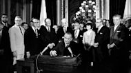 Ballot box access under threat 56 years after passage of Voting Rights Act