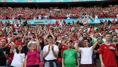 Hungary, Portugal fans 'thrilled' to be back in packed stadium