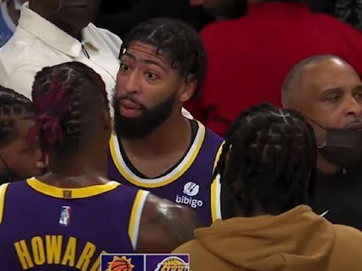 NBA/湖人剛開季就內鬨?AD和魔獸場邊爆發肢體衝突 | 籃球 | 運動 | NOWnews今日新聞