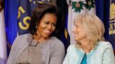 12 of Michelle Obama and Dr. Jill Biden's Sweetest Friendship Moments