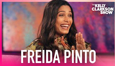 Freida Pinto Reveals She Eloped During Quarantine!