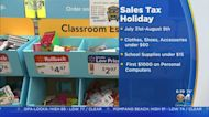 School Supplies Sales Tax Holiday Begins Saturday