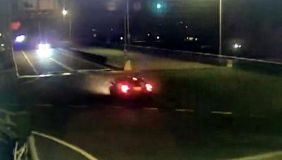 小客車逆向衝台72線!4車狂閃燈驚險連環躲 警方說話了