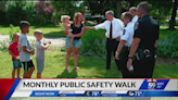 Mayor, IMPD monthly public safety walk show of solidarity for Sikh community