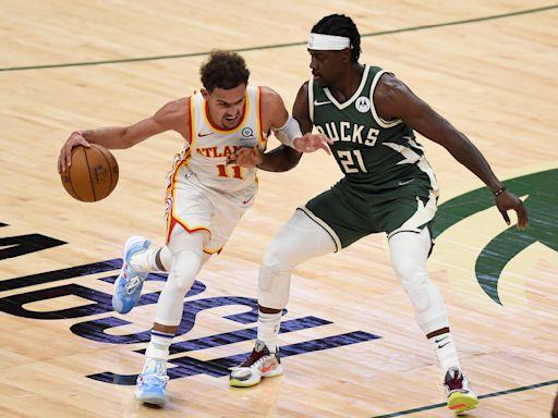 NBA東區冠軍戰》Young少俠功夫了得領軍獵鹿 老鷹拿下第1戰