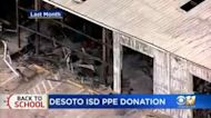DeSoto ISD Getting Face Mask Donation After Fire Destroys PPE