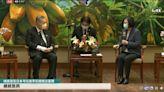 網傳蔡英文接見日本弔唁團「脫鞋」 事實查核中心說話了