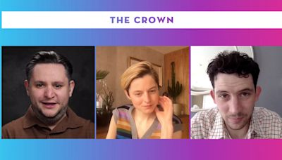 """'The Crown' Star Emma Corrin Says Playing A 20th Century Icon """"Was Very Overwhelming"""" – Contenders TV"""