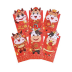 Set of 6 Pcs Chinese New Year Red Envelopes