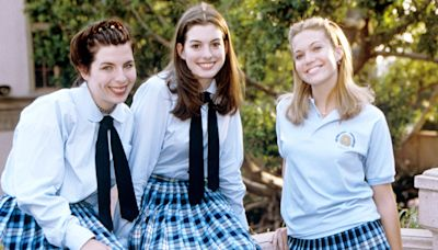 This Iconic Princess Diaries Moment Was Completely Unscripted, According to Anne Hathaway