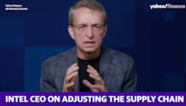 Intel CEO on adjusting the supply chain