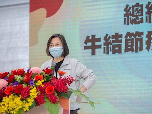 視察牛結節疹防疫 蔡總統:全國合作保護畜牧業