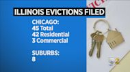 45 Evictions Filed In Chicago Since End Of Eviction Moratorium