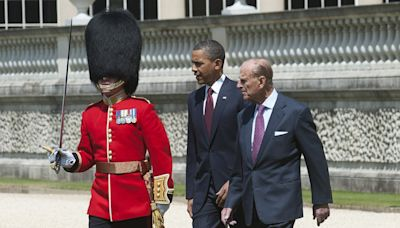 Obama pays heartfelt tribute to 'kind and warm' Prince Philip as he reflects on their first meeting
