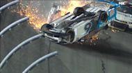 Daytona 500 crash sends Ryan Newman to hospital, injuries not life-threatening; Denny Hamlin wins race