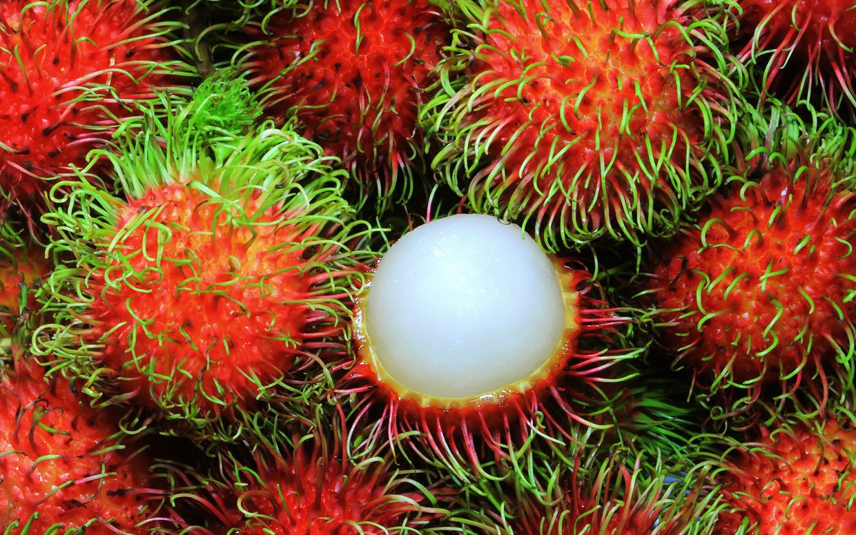 What the Heck Is a Rambutan and How Do You Eat It?