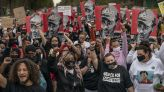 Hundreds join Daunte Wright's family on march for justice
