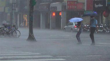 快新聞/全台16縣市發布大雨、豪雨特報 防雷擊強陣風