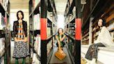 70年代復古回來了!打造華麗卻又古怪的「圖書館小姐」造型