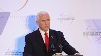 Mike Pence claims Iran is planning a 'new Holocaust' to destroy Israel