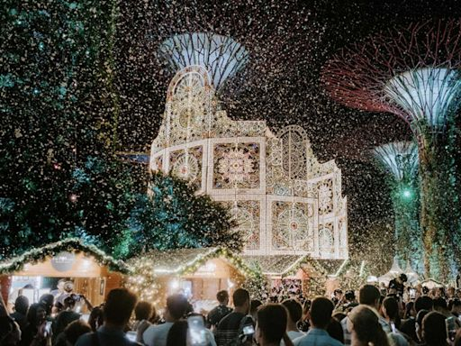 Santa's coming: Christmas Wonderland's jingling back to Gardens by the Bay with parade, Nordic-inspired floral displays, new light sculpture